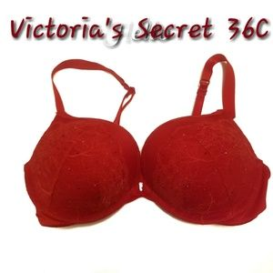 Victoria's Secret Multi way Plunge Bra 36C